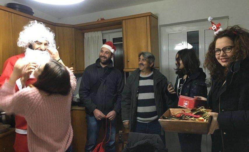 Χριστουγεννιάτικα κάλαντα και επίσκεψη του Άγιου Βασίλη στο Μαγουλά