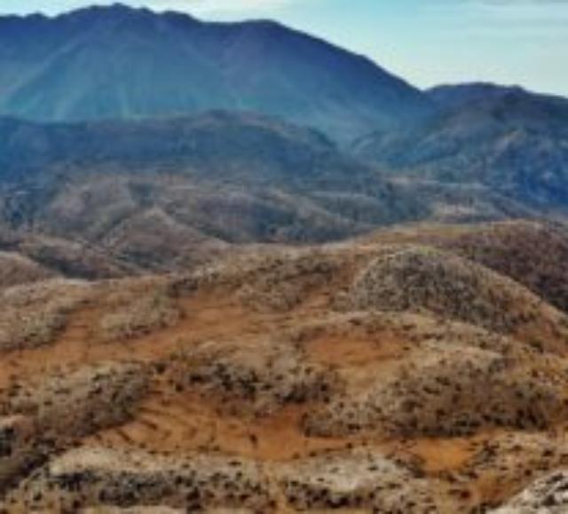 Η θέα της Δίκτης από την Κορφή της Μάχας- The view of Dikti from Maha's peak