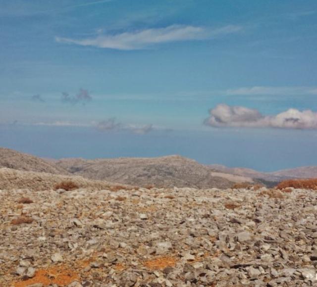Η θέα της θάλασσας από την Κορφή της Μάχας- The view of sea from Maha's peak