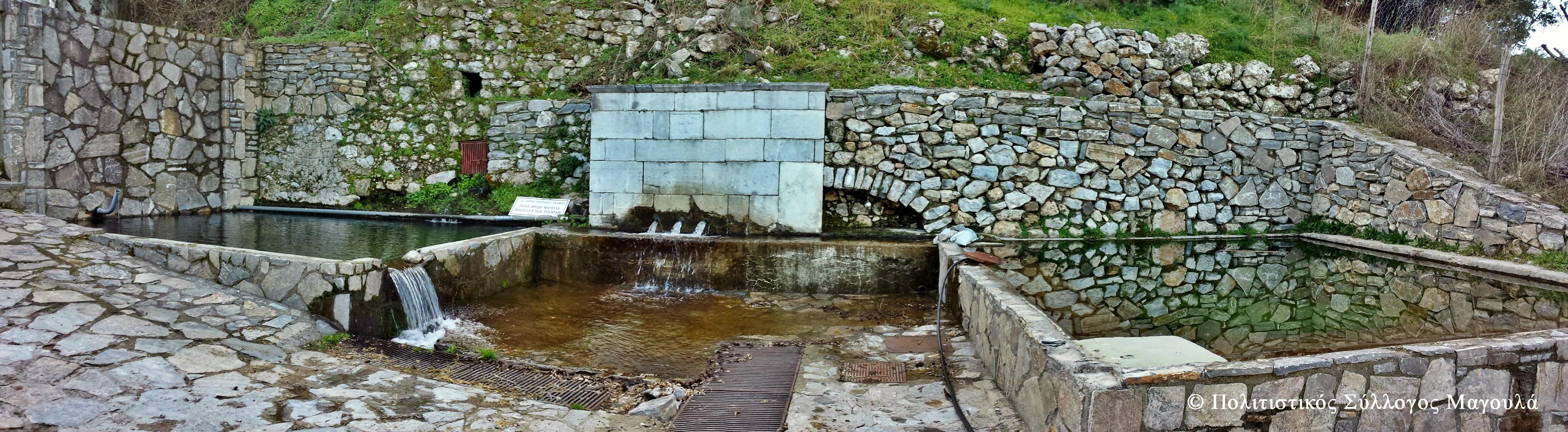 Αρχή διαδρομής στη Μεγάλη Βρύση- Starting from Magoulas Greta Fountain