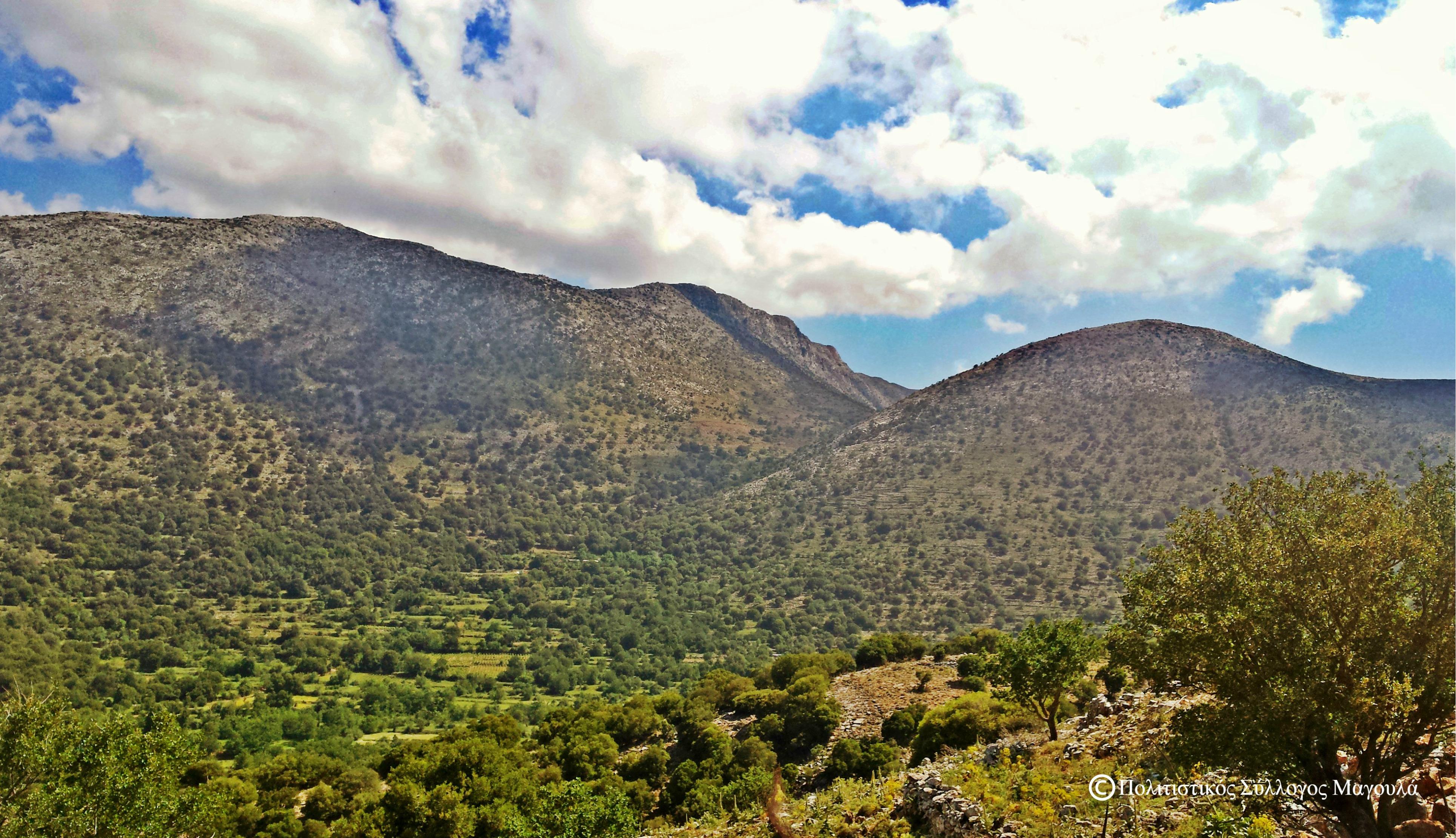 Ένας μέρος της ορεινής περιοχής του Κλώρου- A part of Kloros