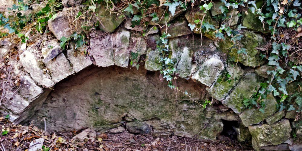Καμάρα νερόμυλου- Part of the watermill of Magoula