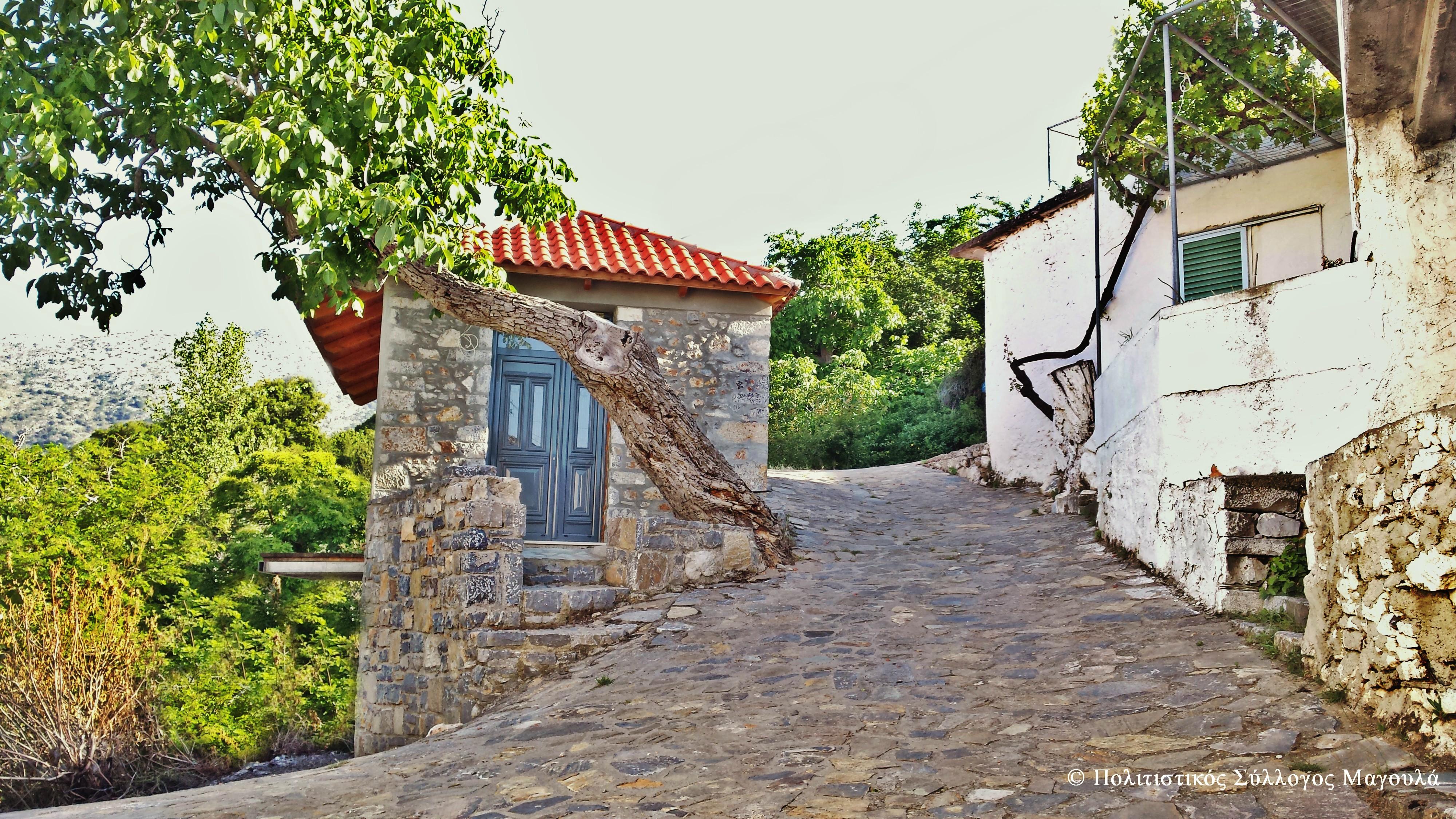 Περπατώντας μέσα στο χωριό