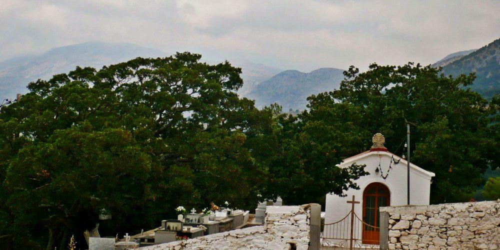 Αφέντης Χριστός και το νεκροταφείο του Μαγουλά -Afentis Xristos and Magoula's cemetery