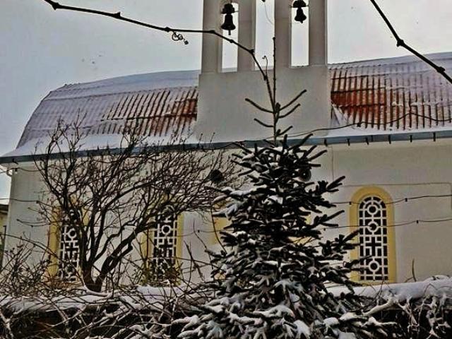 Χιόνι στον Άγιο Σπυρίδωνα