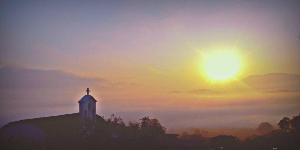 Αυγή στο Μαγουλά- Sun rising in Magoula