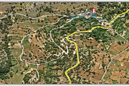 Τοποθεσία Μεγάλης Βρύσης στο χάρτη