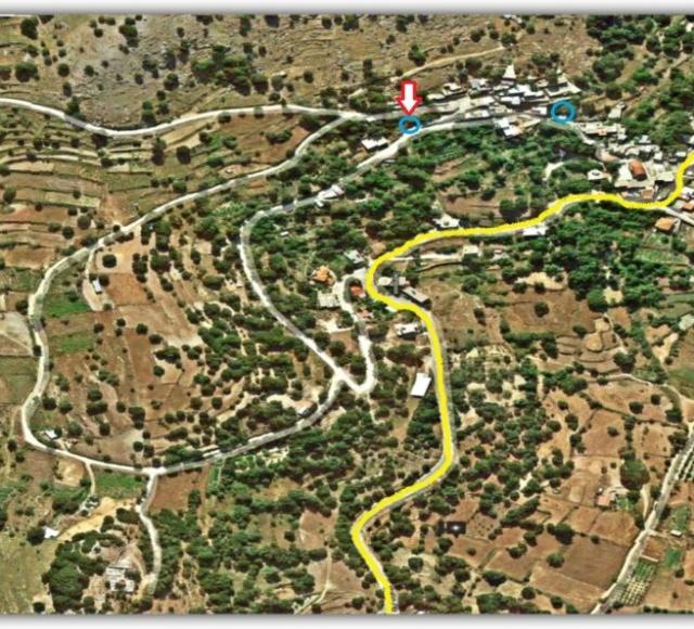 Τοποθεσία Βρυσοπούλας στο χάρτη