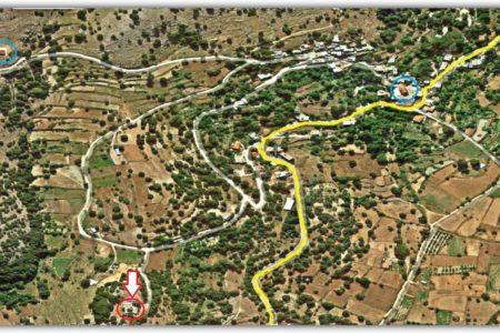 Τοποθεσία Αφέντη Χριστού στο χάρτη