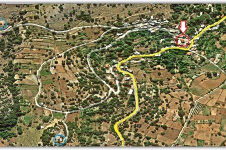 Τοποθεσία Αγίου Σπυρίδωνα στο χάρτη