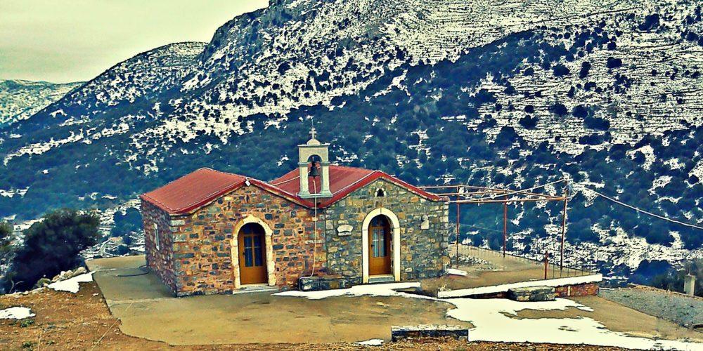 Άγιος Αντώνιος και Αγία Μαρίνα του χωριού Μαγουλά- Saint Antonios and Saint Marina of Magoula