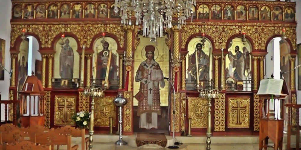 Εσωτερικό Αγίου Σπυρίδωνα- Inside St Spiridon