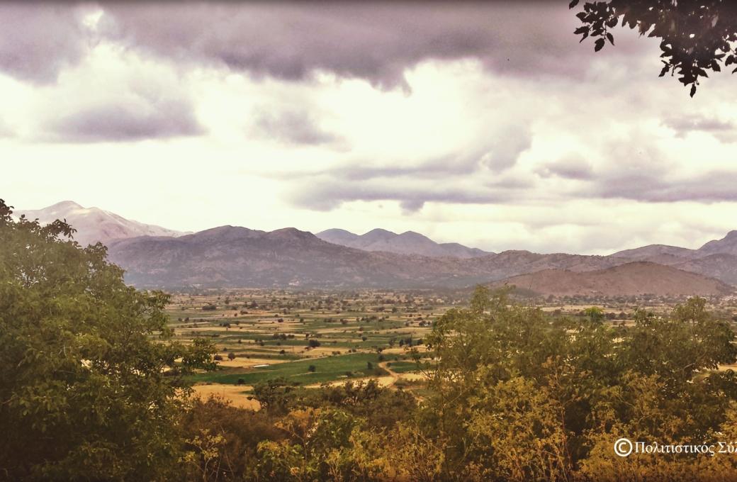 Ο κάμπος από το Μαγουλά- The lasithi plain from Magoula