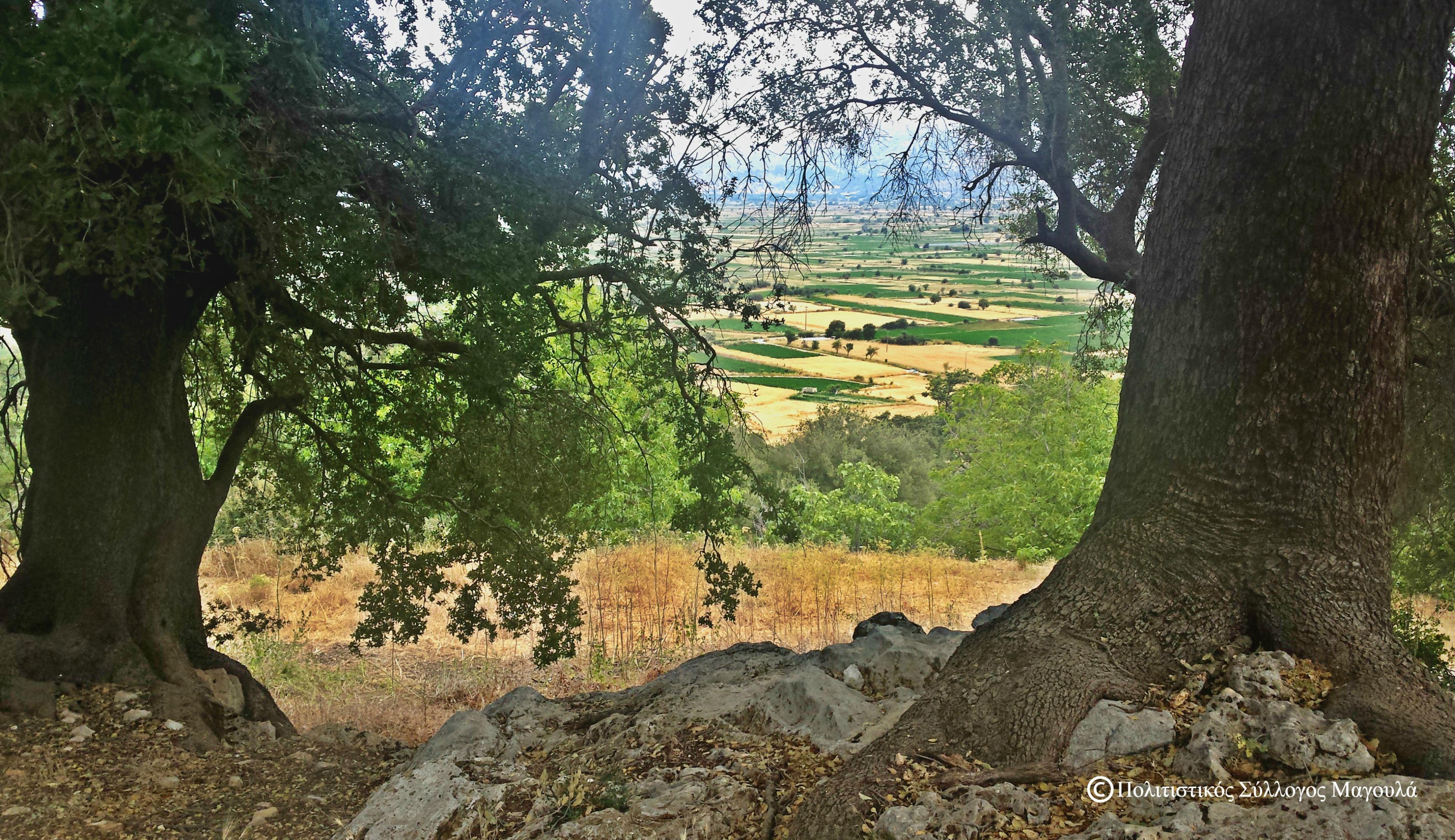 Στην πάνω μερά του χωριού- At the upper part of the village